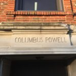 Modern-day picture of the Columbus Powell School Building where the Central Church of Christ first met.