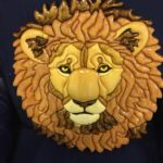 """Lion Of Judah"", hand-crafted by an inmate at NECX, Main Compound, Mountain City, TN"